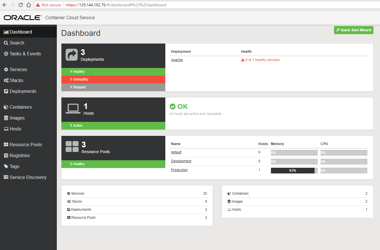 DevOps with Github, Docker Hub and Oracle Container Cloud